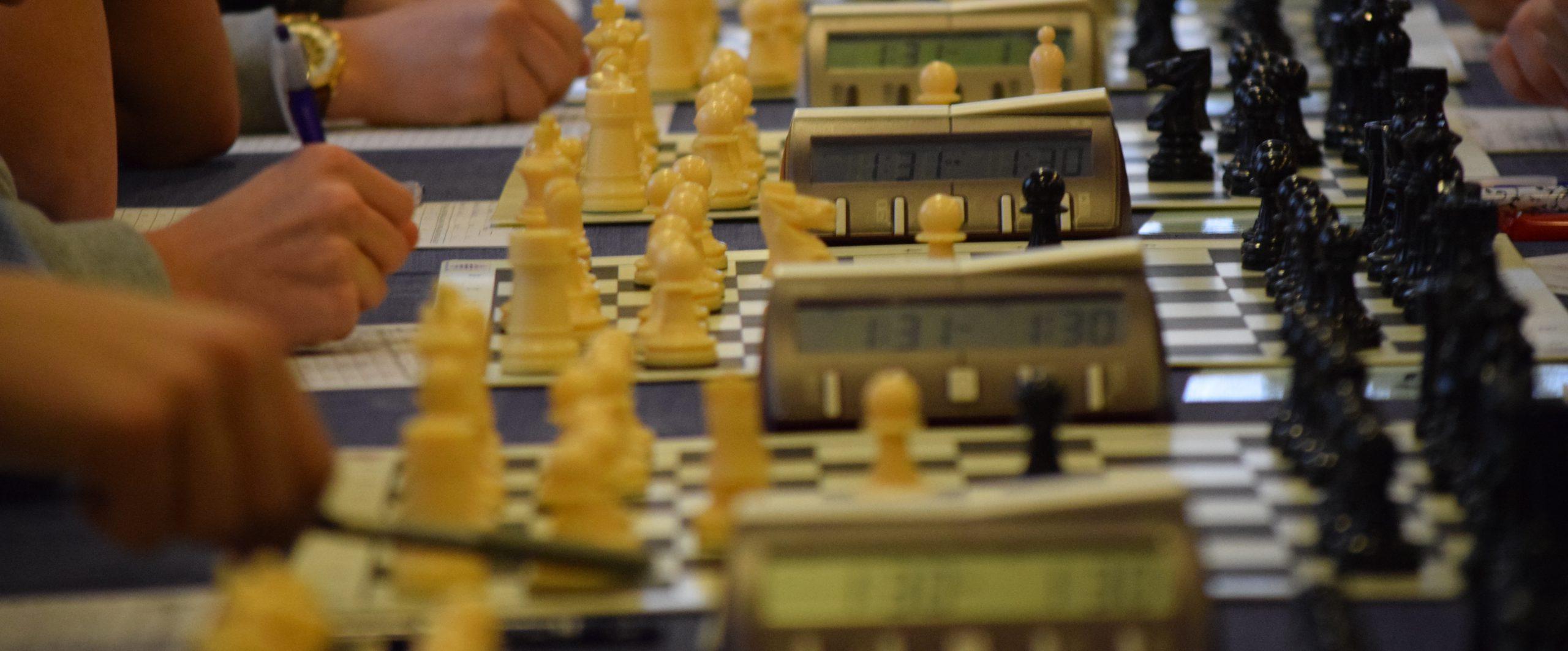 Torneo Escolar PonteXadrez al aire libre