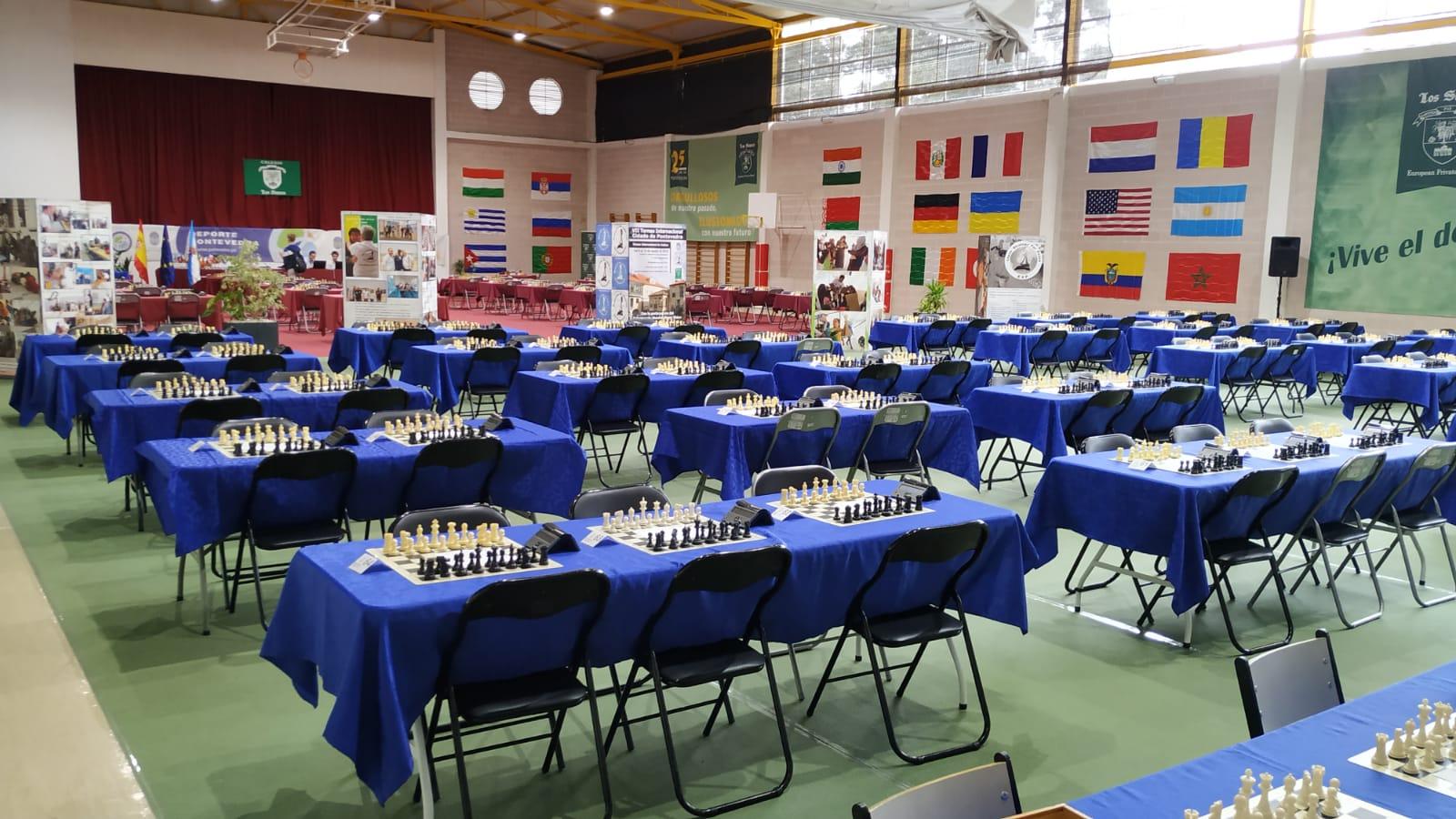 Comunicado oficial del Torneo Internacional de Ajedrez Cidade de Pontevedra.