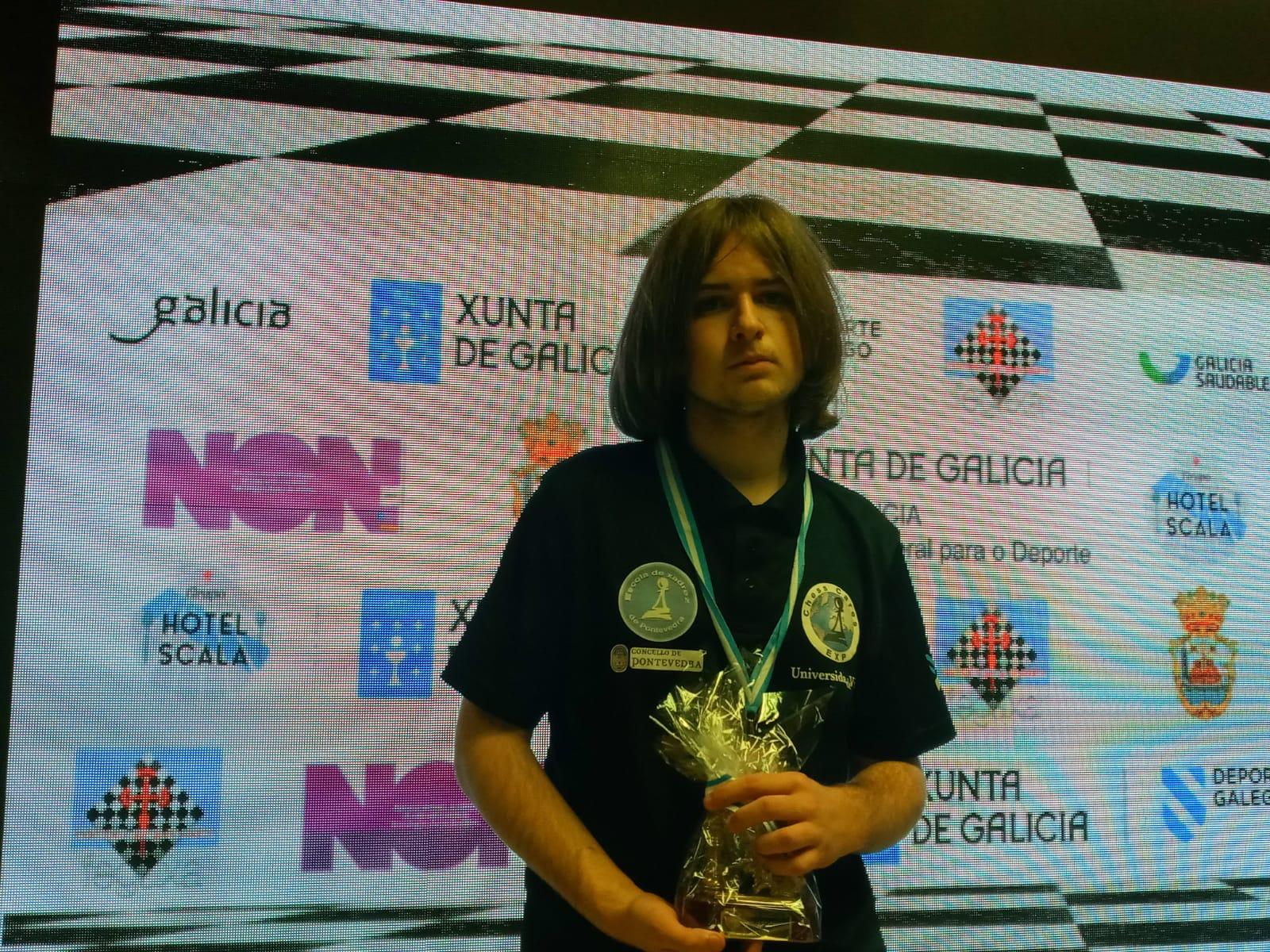 Rubén Fernández é o novo Campión Galego Xuvenil