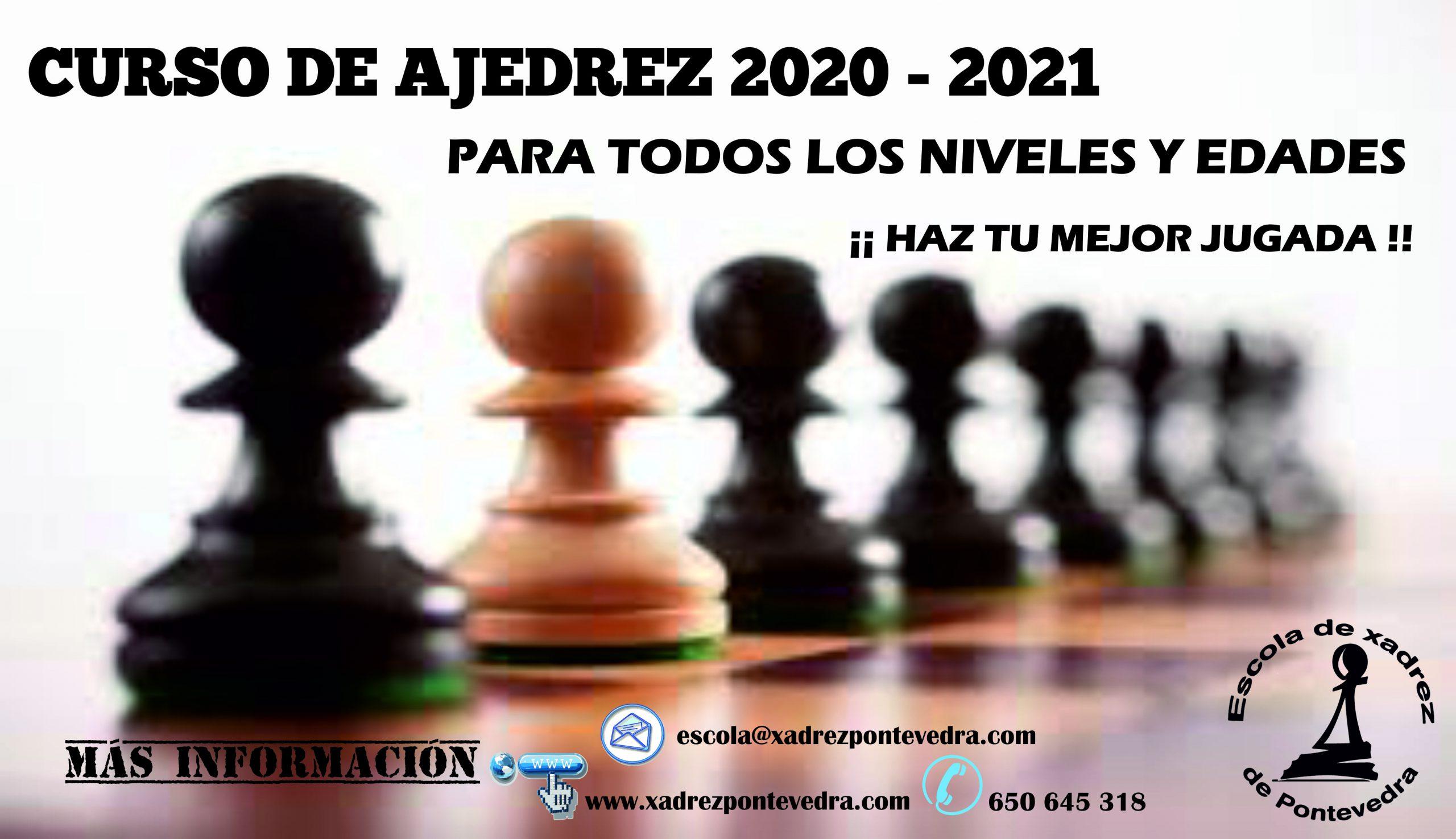 CURSO AJEDRECÍSTICO 2020/2021 de la EXP