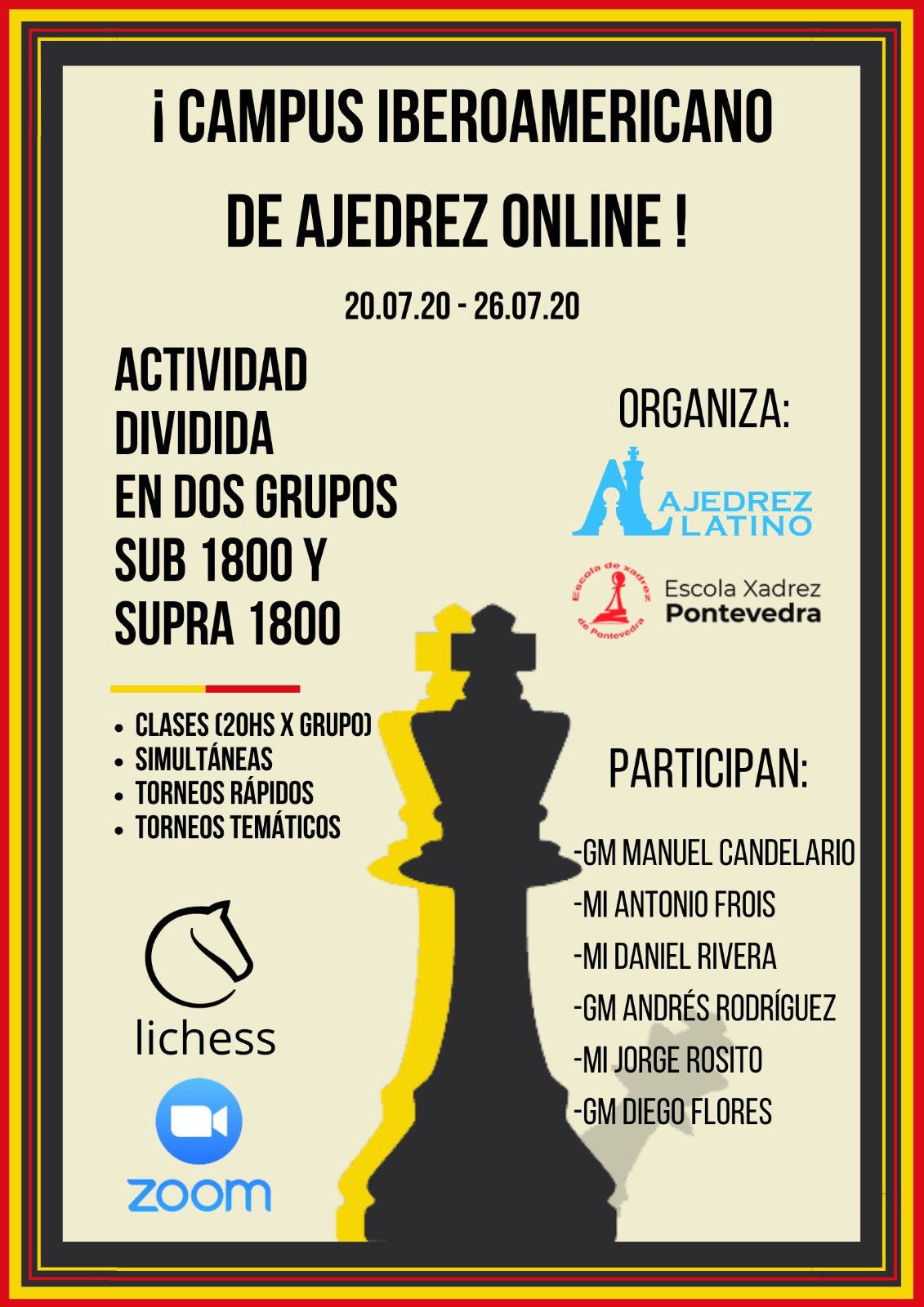 I Campus Iberoamericano de AJedrez Online