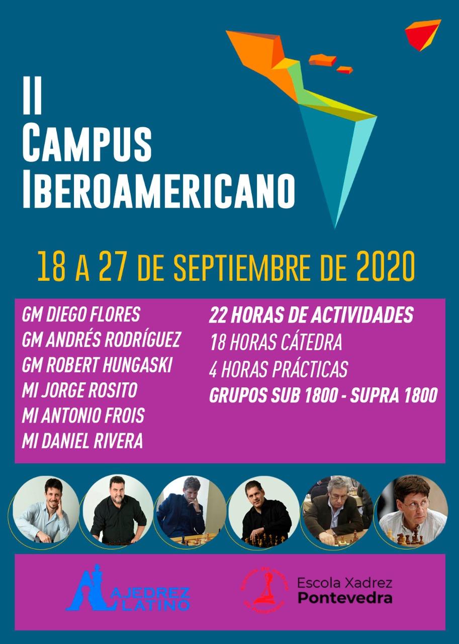 II Campus Iberoamericano de Ajedrez Online