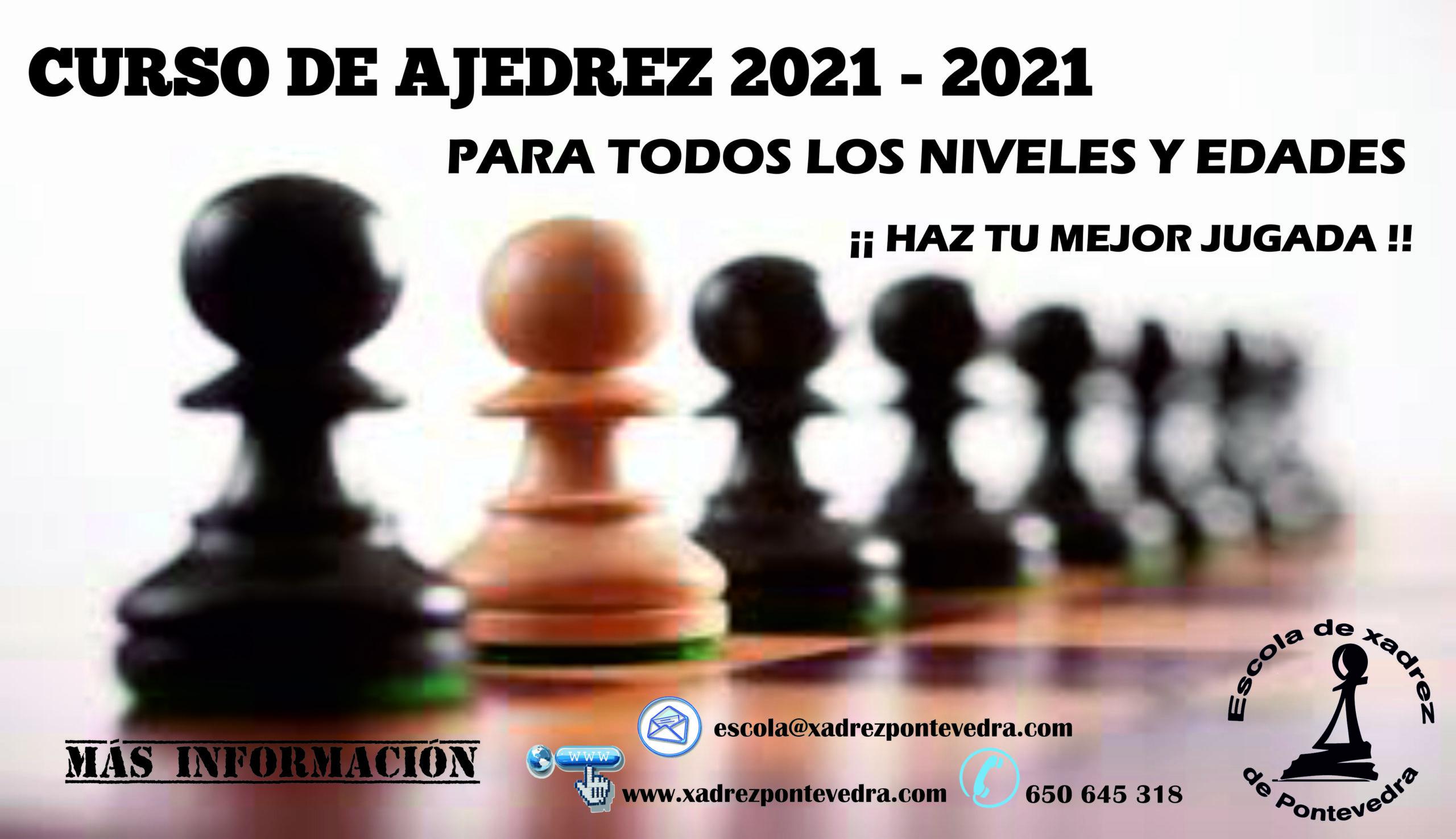 CURSO AJEDRECÍSTICO 2021/2022 de la EXP