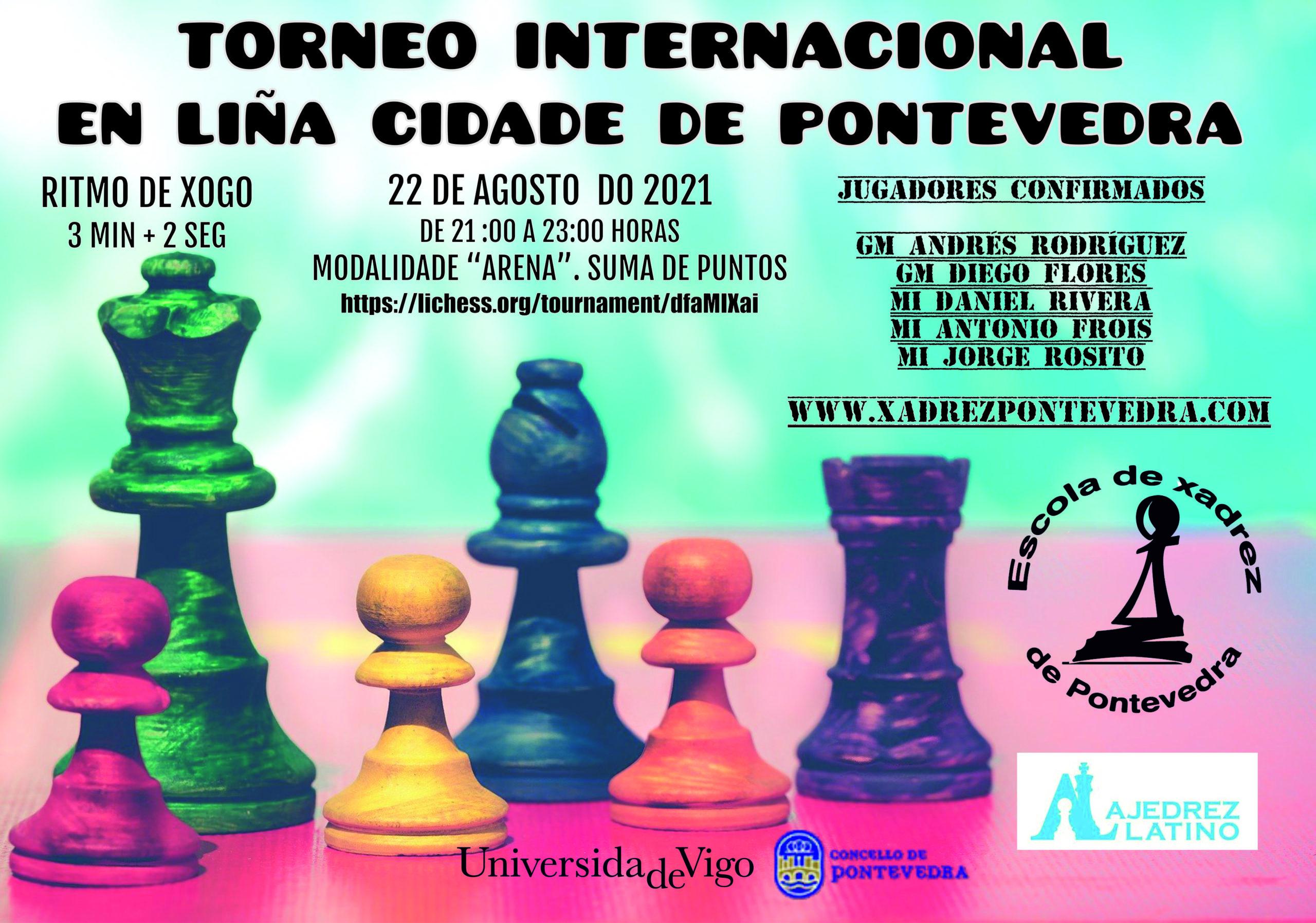 Torneo Internacional en línea Cidade de Pontevedra 2021